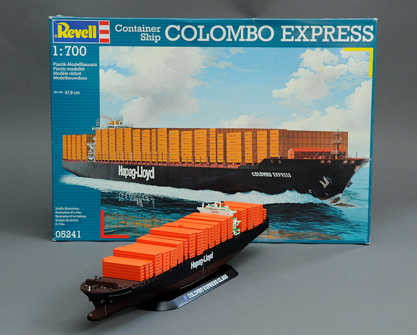 1/700 Colombo Express from Revell of Germany | Model Kits Review