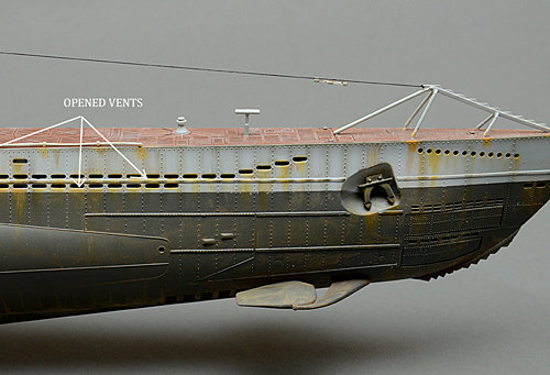 Presenting the new Revell 1/72 scale German U-Boat   Model