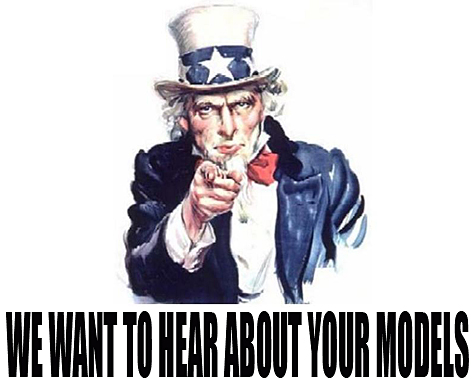 We Want Your Models | | Model Kits Review
