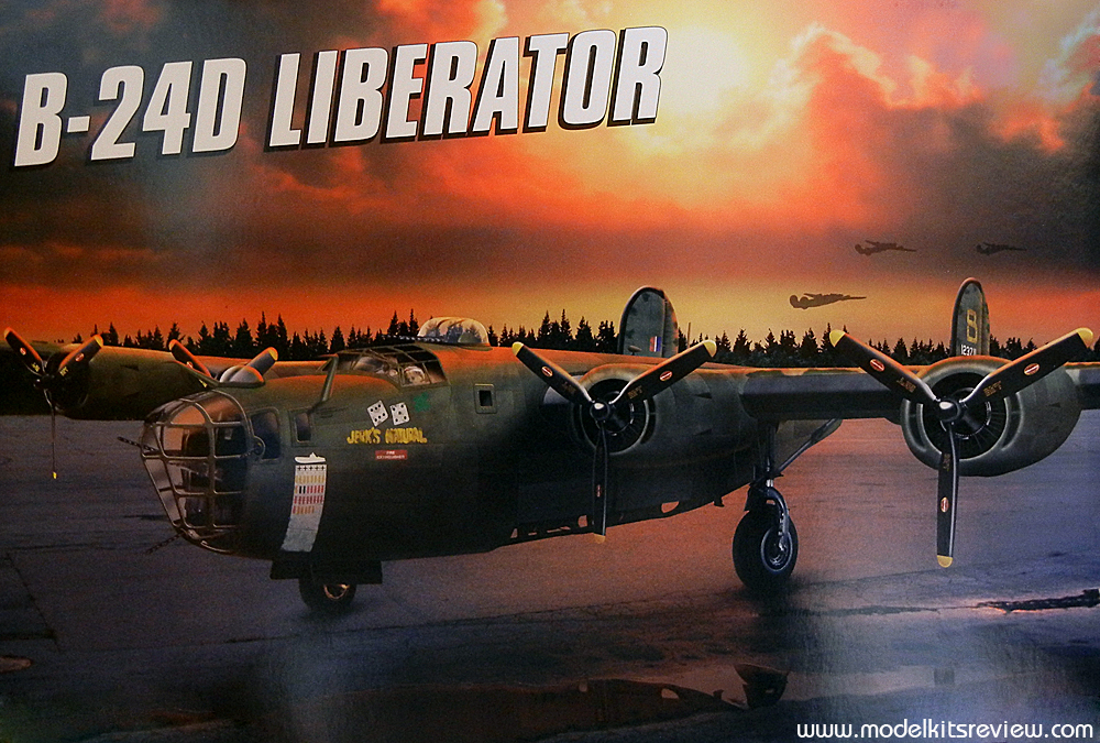 Revell 1/48 B-24D Liberator Review | Model Kits Review