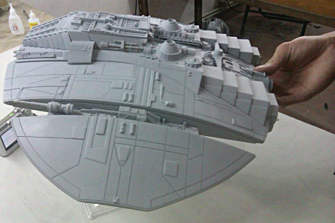 Studio Scale Cylon Raider | | Model Kits Review