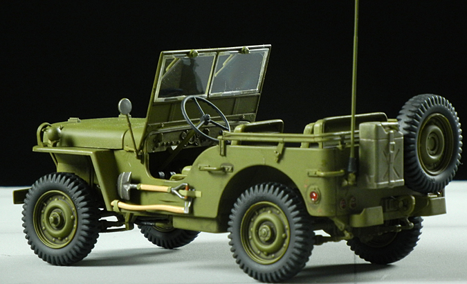 new italeri 1 24 jeep willys kit 6355 model kits review. Black Bedroom Furniture Sets. Home Design Ideas