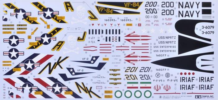 Grumman F 14a Tomcat 148 From Tamiya Model Kits Review
