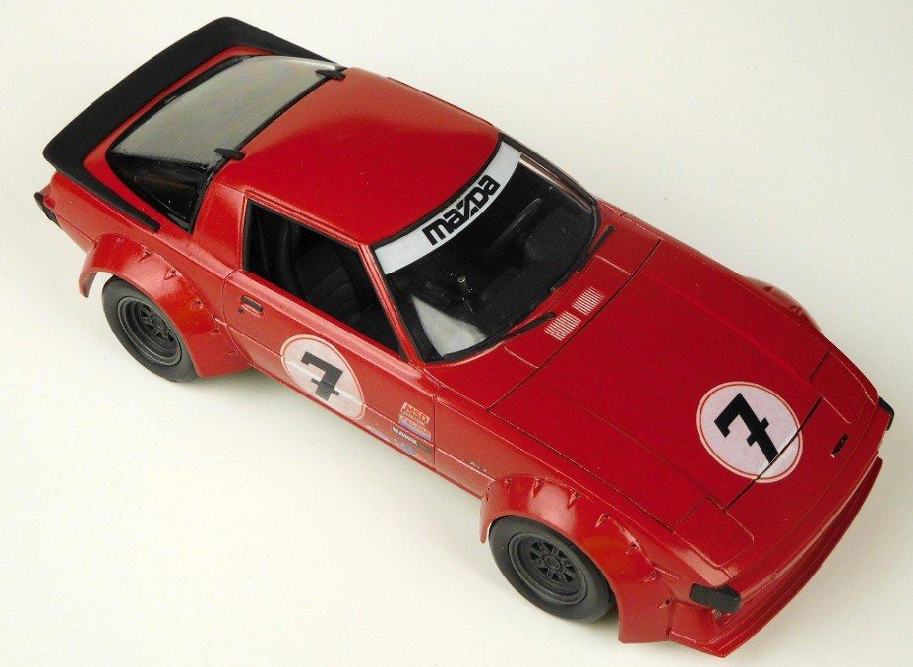 Revell 1/24 Mazda RX-7 Kit 85-4429   Model Kits Review