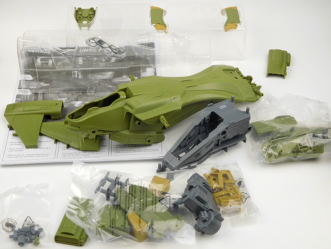 Toys & Games Models & Model Kits Revell Snaptite Build and Play Halo