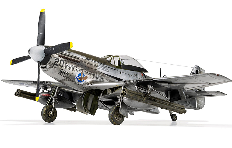 New Airfix 148 North American P51 D Mustang Model Kits Review