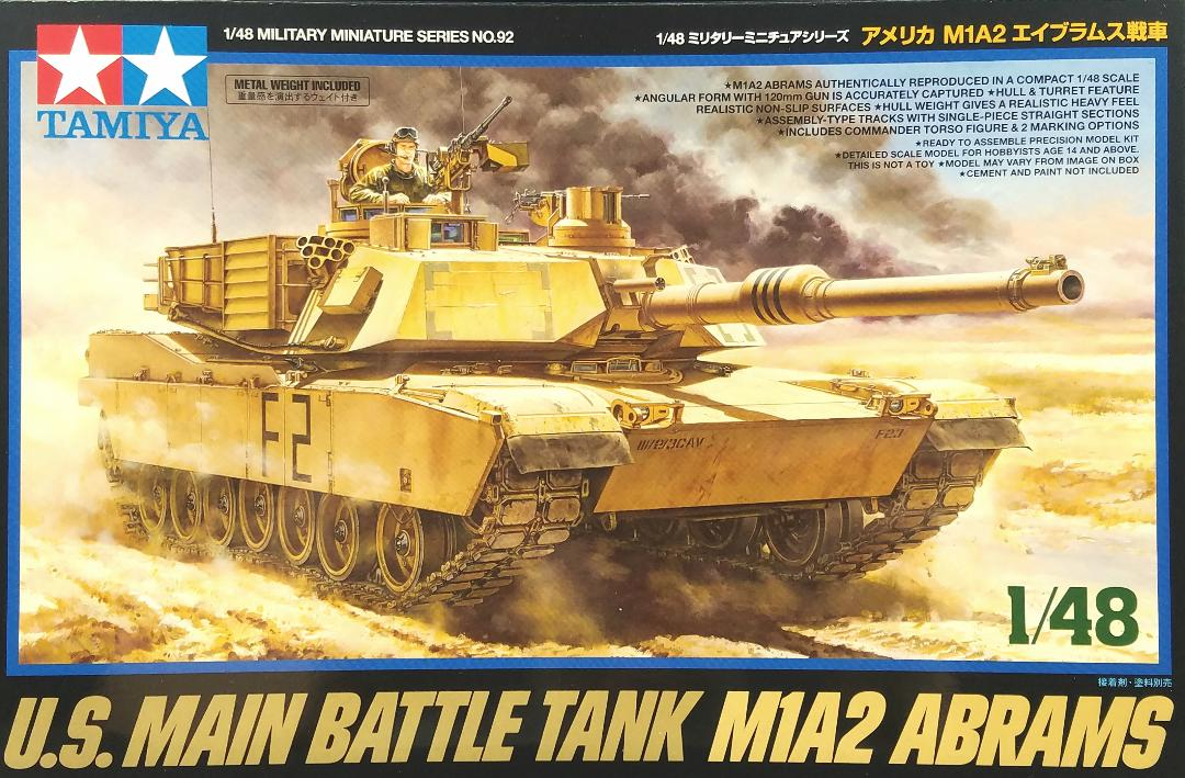 07acefa280de The attention this week was for a model kit announced not so long ago. This  is the 1 48 Abrams M1A2 U.S. Main Battle Tank from Tamiya.
