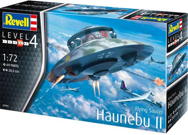 Revell of Germany to remove the German Haunebu II UFO model kit
