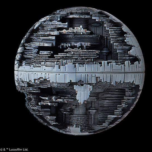 Pictures of the Bandai Death Star Plastic Model Kit | Model